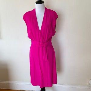 Kate Spade New York Pink Villa Bow Dress - size 8